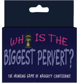 Who's The Biggest Pervert Card Game