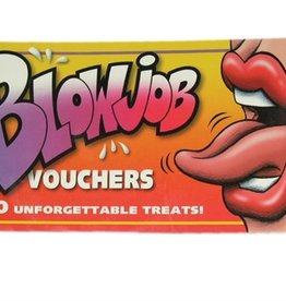 Blow Job Vouchers