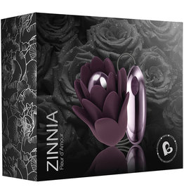 Zinnia Fleur D'amour Massager Purple