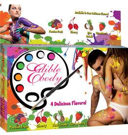 Edible Body Play Paints 4pk