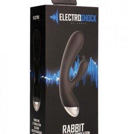 Electroshock E-Stimulation Rabbit Vibrator Black