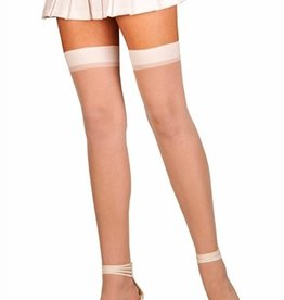 ELEGANT MOMENT Sheer Thigh High - One Size