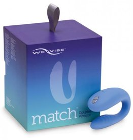 We Vibe Match Couples Vibrator Blue