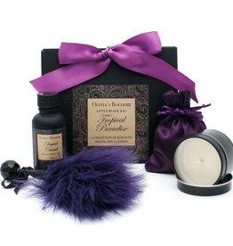 Olivia's Boudoir Little Black Bag Tropical Paradise Kit