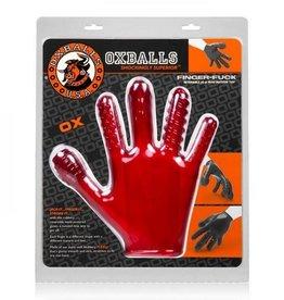 Finger F*ck Textured Glove