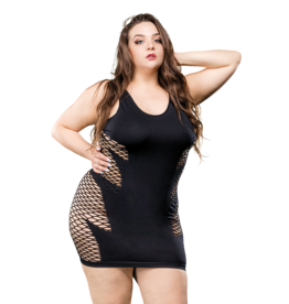 Naughty Girl Leaf Dress Queen Size