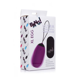 Bang XL Vibrating Egg - Purple