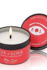 ENTRENUE Eye of Love Pheromone Massage Candle 5oz – One Love