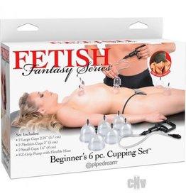 Fetish Fantasy Beginner 6 Piece Cupping Set