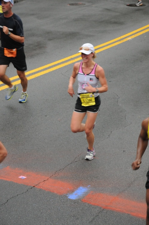 Annie at peachtree road race