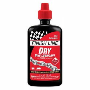 Finish Line Finish Line DRY Bike Chain Lube - 4 fl oz, Drip