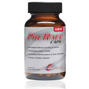 First Endurance First Endurance PreRace Capsules: Bottle of 90