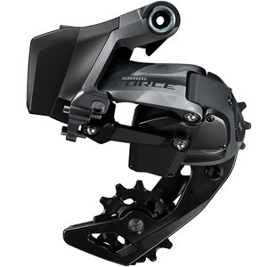 SRAM SRAM, Force eTap AXS D1 Wide, Rear Derailleur, Speed: 12, Cage: Medium, Black Gloss