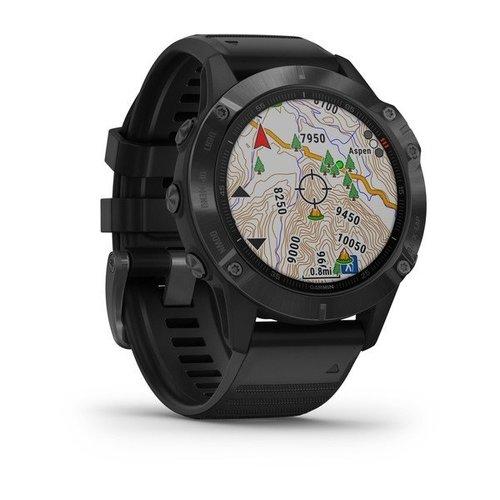 Garmin Garmin fenix 6 47mm Black, Wristband: Black - Silicone