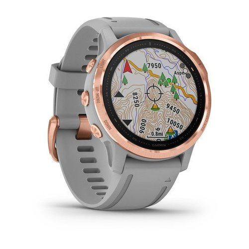 Garmin Garmin fenix 6S 42mm Sapphire Rose Gold, Wristband: Powder Gray
