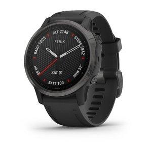 Garmin Garmin fenix 6S 42mm Sapphire Carbon Grey, Wristband: Black