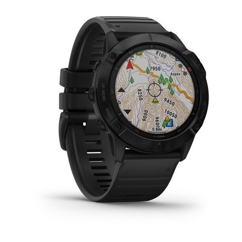 Garmin Garmin fenix 6X 51mm Black, Wristband: Black