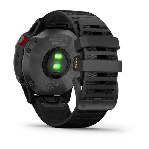 Garmin Garmin fenix 6 Solar 47mm Slate Grey, Wristband: Black