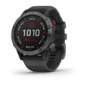 Garmin Garmin fenix 6 Solar 47mm Slate Grey, Wristband: Black