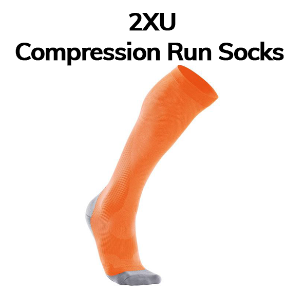 2XU run compression sock