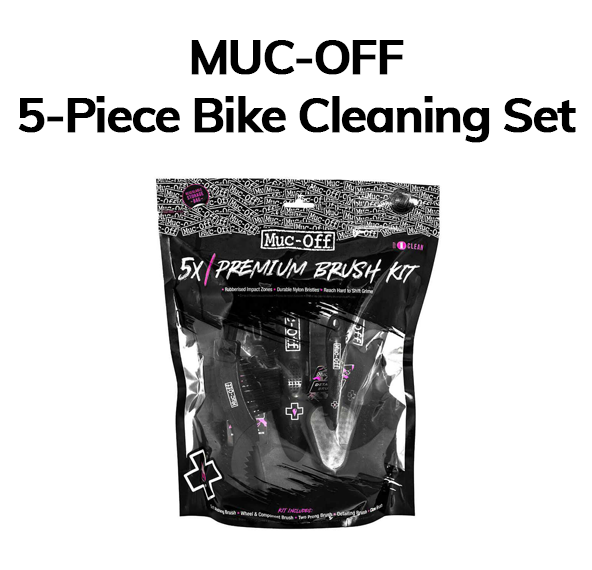 5-piece cleaning bike set