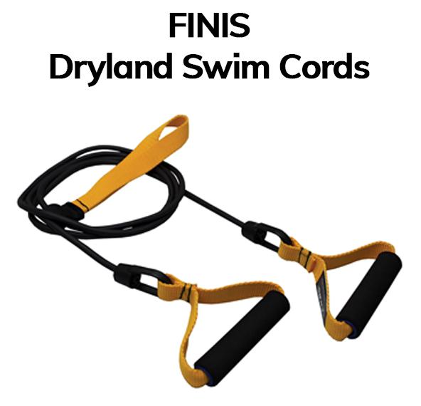 Dry land swim cords