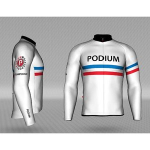 Jackroo Podium Vuelta Pro Thermal LS Jersey by Jakroo