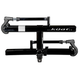 "Kuat Kuat Sherpa 2.0 Hitch Rack: 1.25"" Receiver, 2 Bike Trays, Black Metallic"