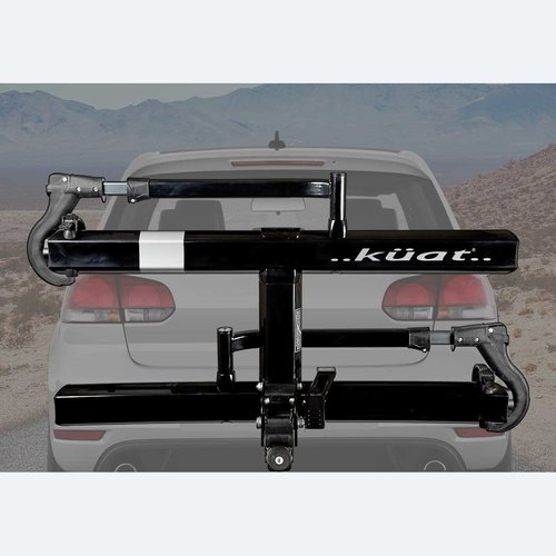 "Kuat Kuat Sherpa 2.0 Hitch Rack: 1.25"" Receiver, 2 Bike Trays, Black Metallic"