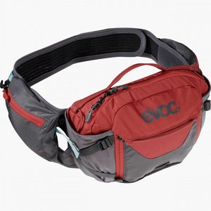 EVOC EVOC Hip Pack Pro Hydration Bag Carbon Grey/Chili Red
