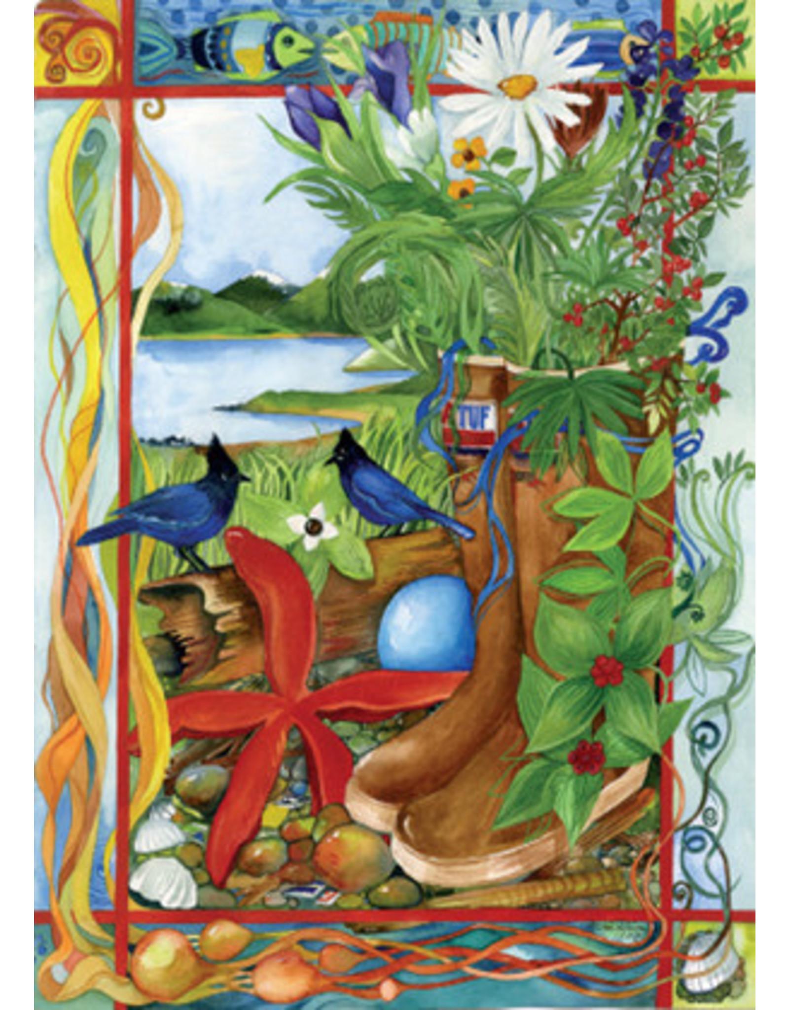 "Pia Reilly Pia Reilly ""Nature Walk"" art print"