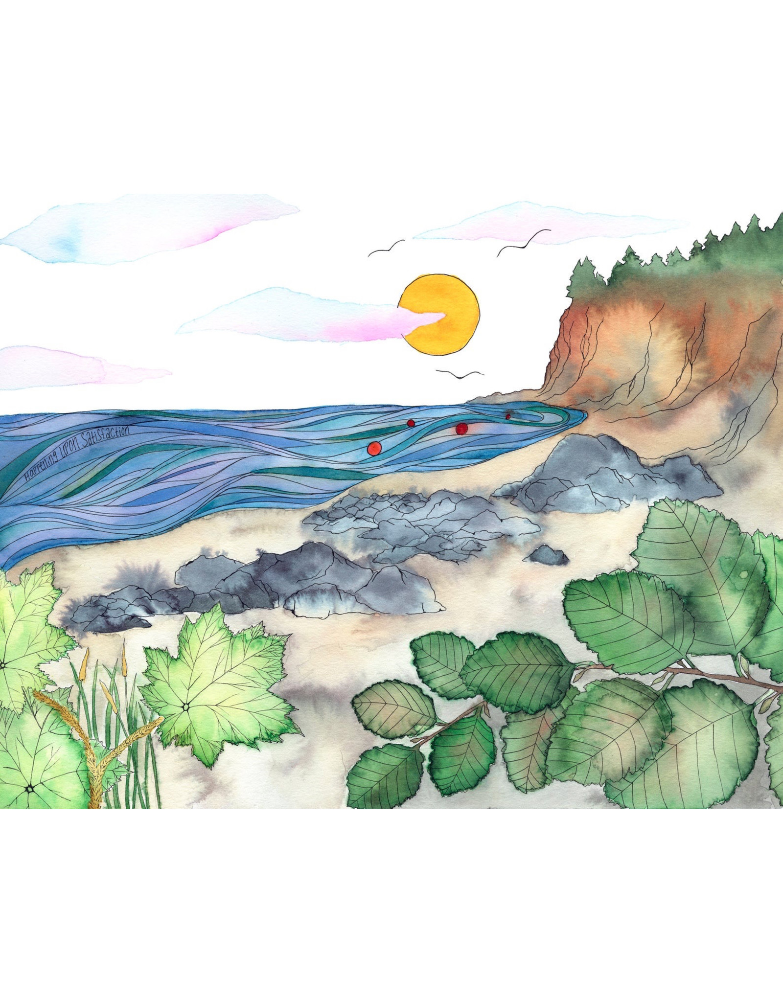 "Elevate Art Studio Kelsey Fagan ""Happening Upon Satisfaction"""
