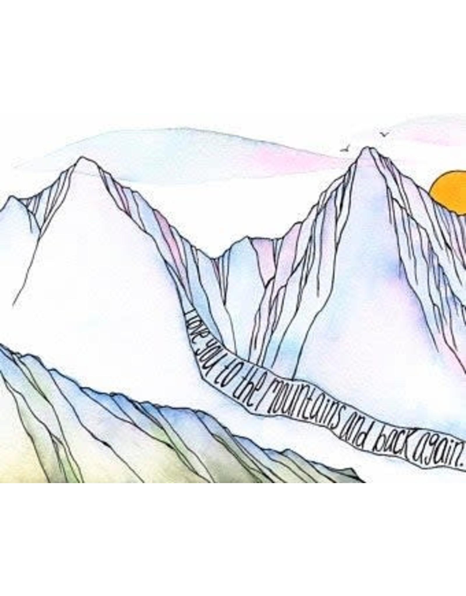 Elevate Art Studio I Love You to the Mountains and Back Again | Kelsey Fagan