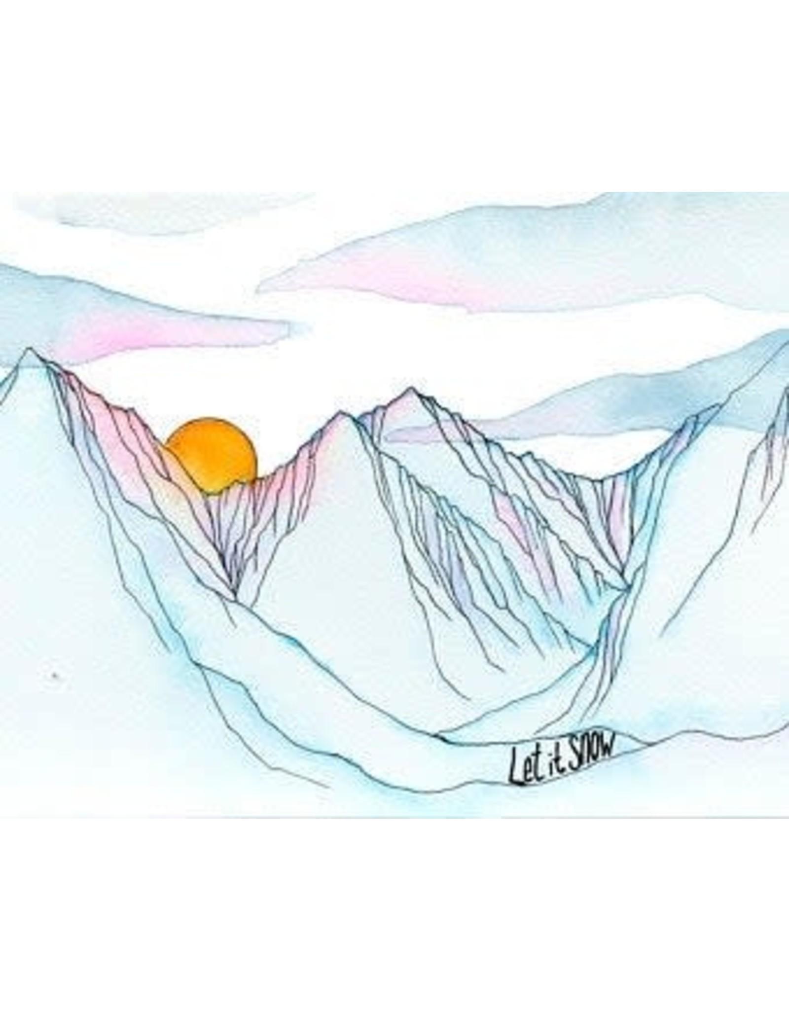 Elevate Art Studio Let it Snow   Kelsey Fagan