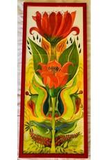 """Pia Reilly Pia Reilly """"Queen of Sheeba"""" Framed Original Watercolor 12x30"""