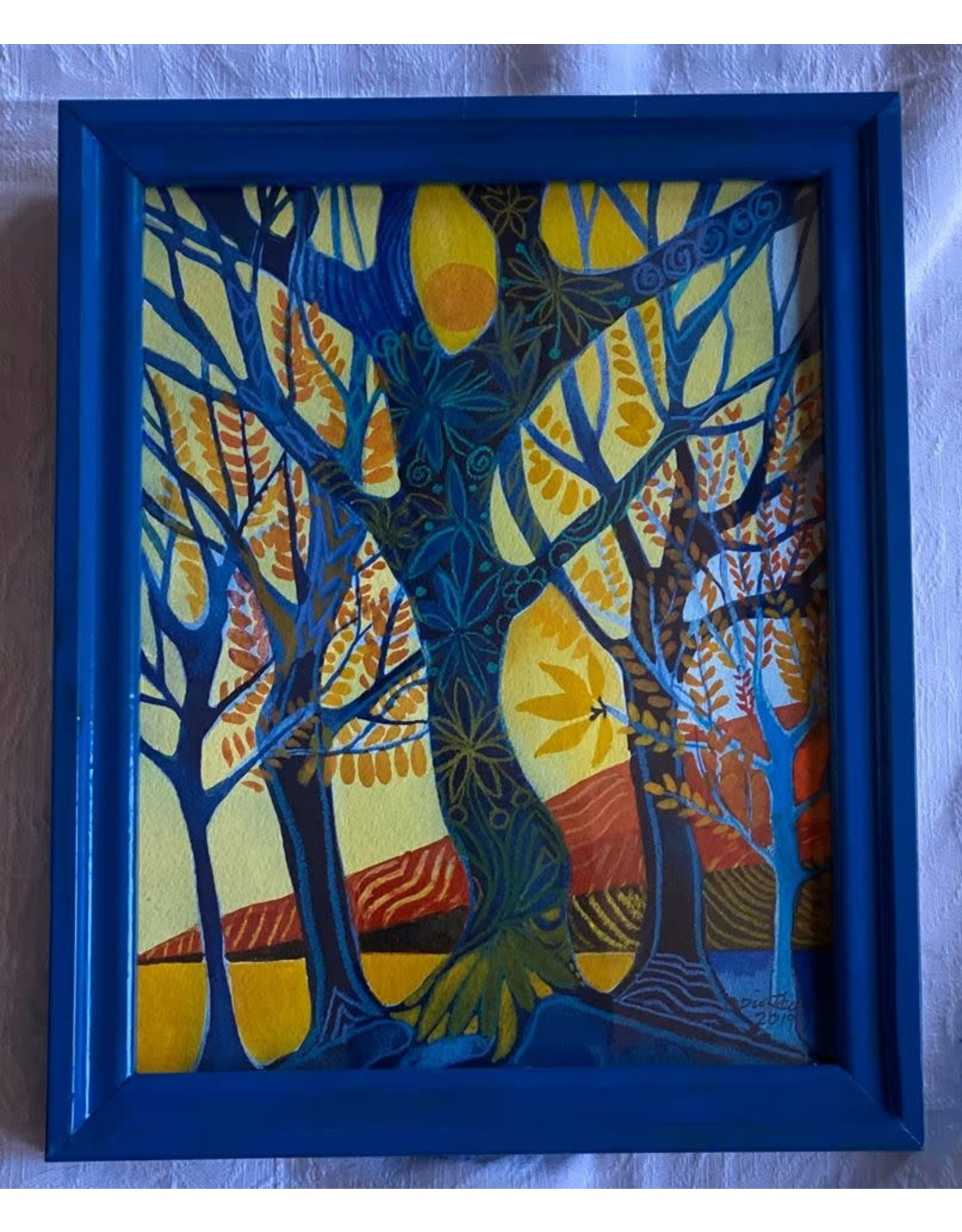 Pia Reilly Spring Time (framed original) | Pia Reilly