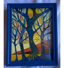 Pia Reilly Spring Time (framed original)