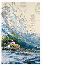 "Brenda Schwartz Brenda Schwartz-Yeager ""Alaska Travelers"" art print"