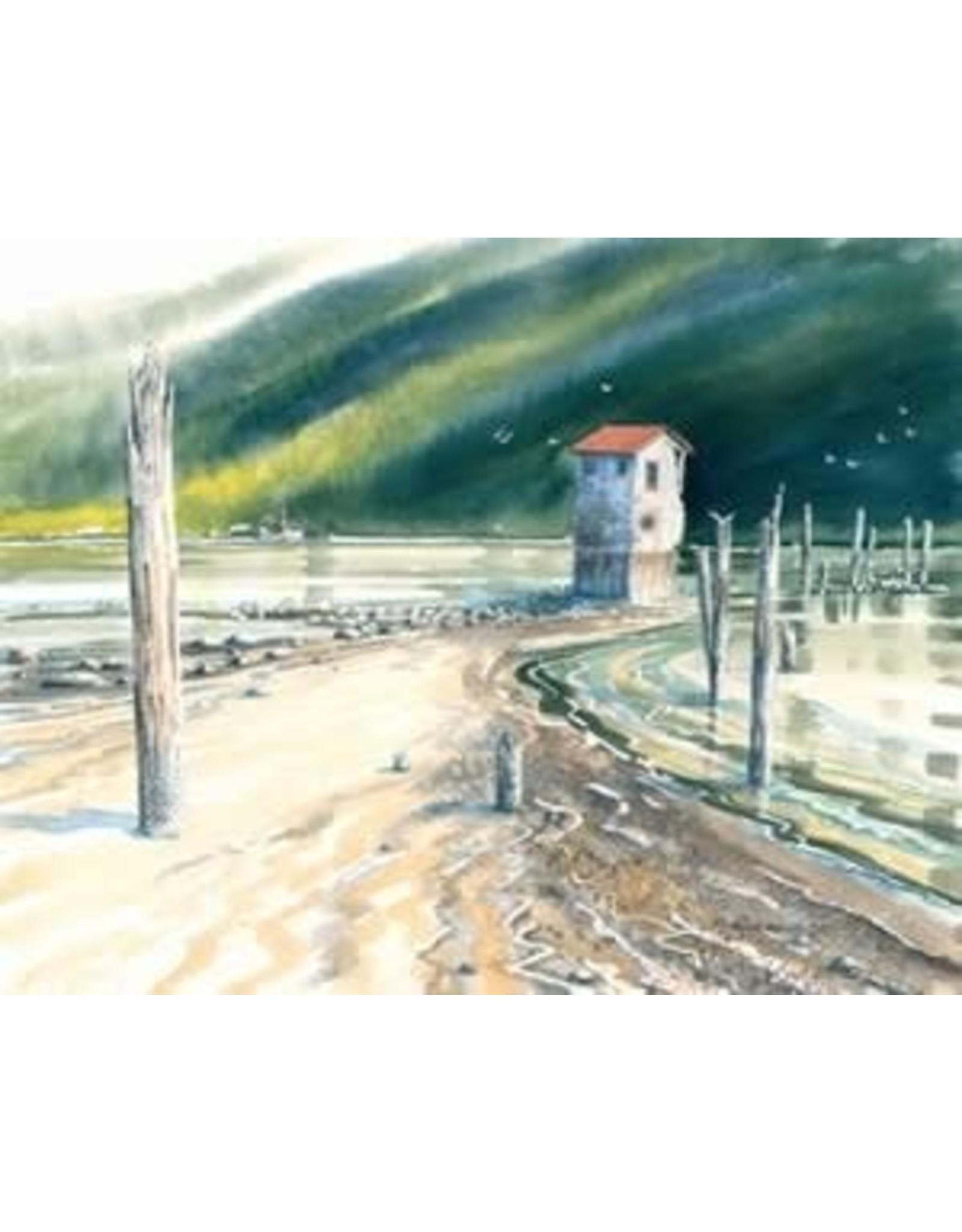 "Brenda Schwartz Yeager Brenda Schwartz-Yeager ""Channel Watchman"" art print"