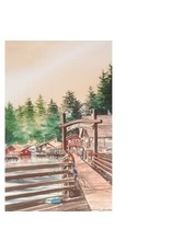 "Brenda Schwartz Yeager Brenda Schwartz-Yeager ""Creek Street"" art print"