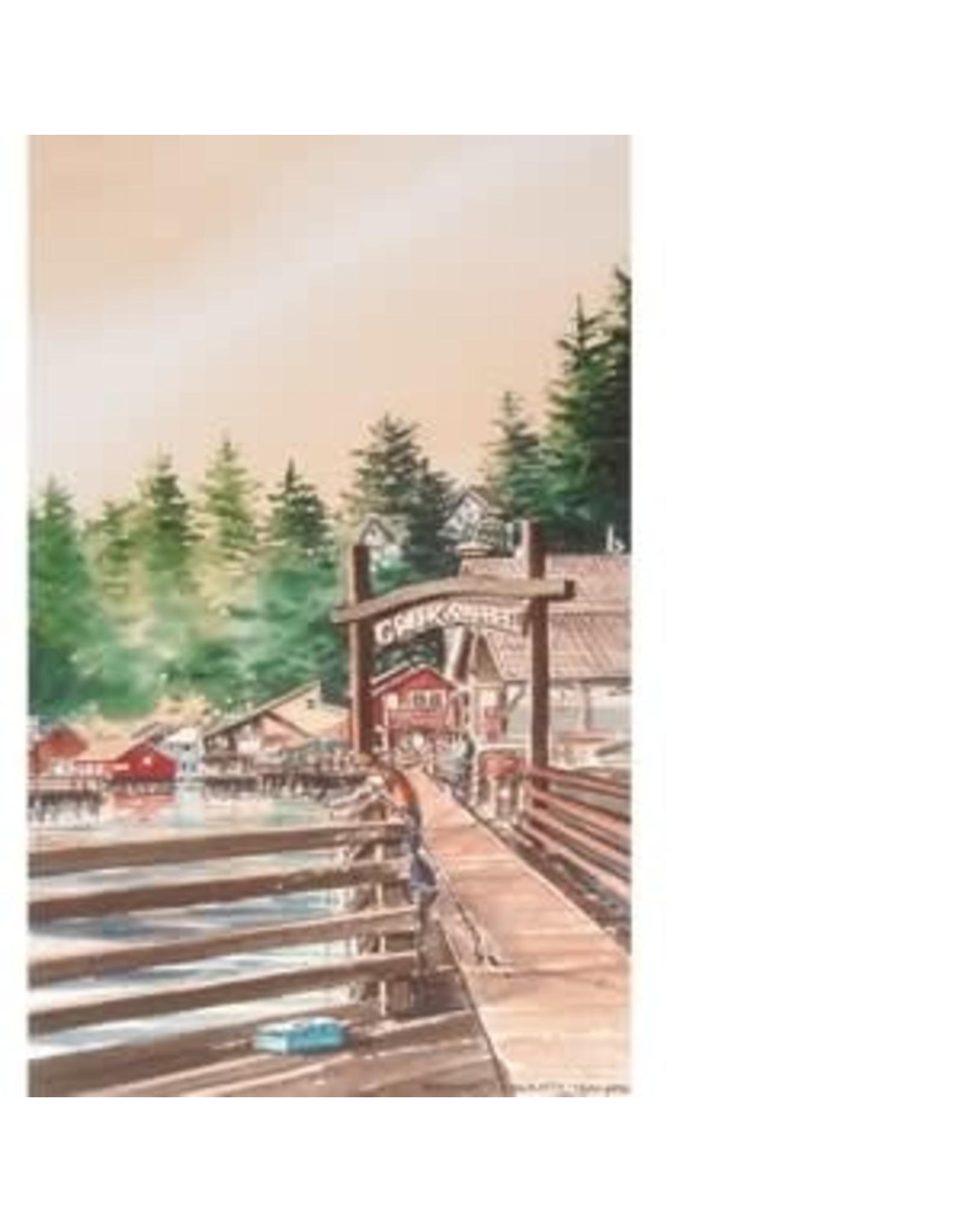 """Brenda Schwartz Brenda Schwartz-Yeager """"Creek Street"""" art print"""