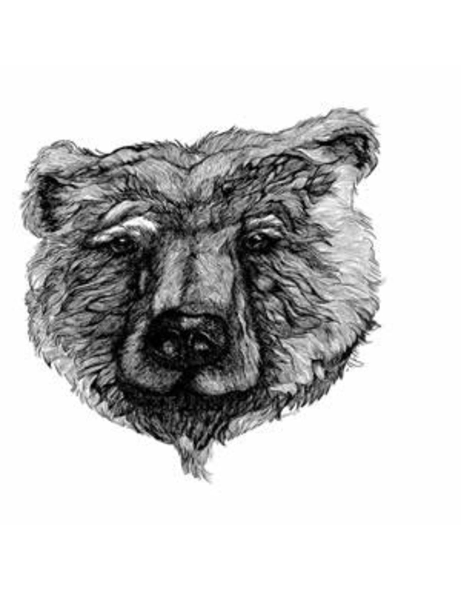 Katie Sevigny Black and White Bear | Katie Sevigny