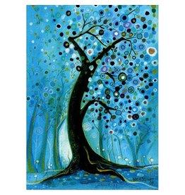 Katie Sevigny Circle Tree at Night