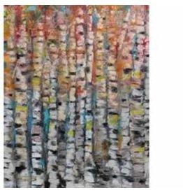 Katie Sevigny Modern Oil Birch - Portrait