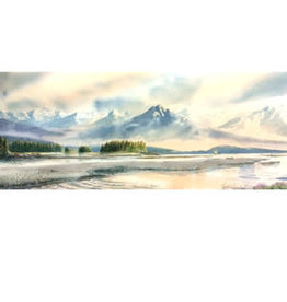 """Brenda Schwartz Brenda Schwartz-Yeager """"Eagle Beach"""" art print"""