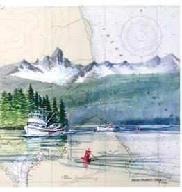 "Brenda Schwartz Brenda Schwartz-Yeager ""Homecoming"" art print"