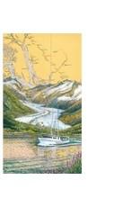 "Brenda Schwartz Yeager Brenda Schwartz-Yeager ""Inside Passage"" art print"