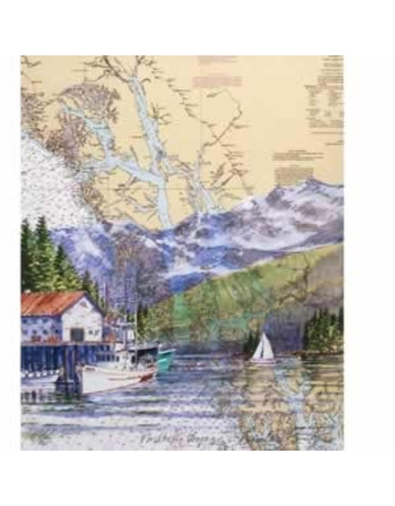 """Brenda Schwartz Brenda Schwartz-Yeager """"Northern Voyage"""" art print"""
