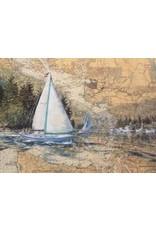 """Brenda Schwartz Brenda Schwartz-Yeager """"Pacific Holiday"""" art print"""