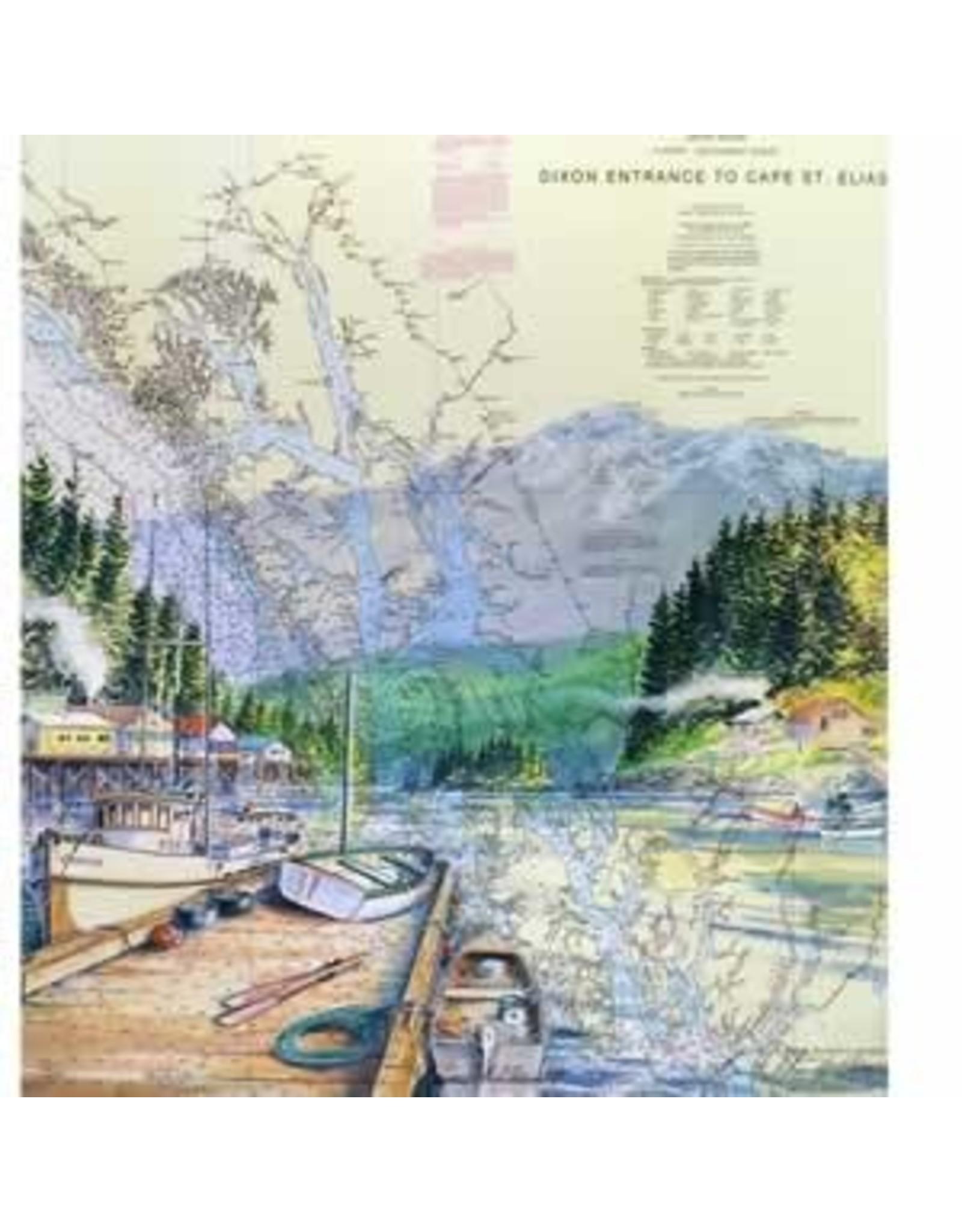 "Brenda Schwartz Brenda Schwartz-Yeager ""Secluded Harbor"" art print"